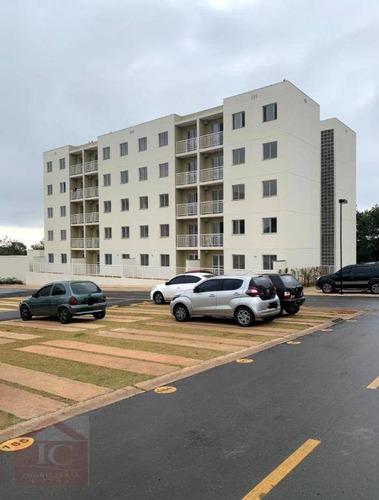 Apartamento Com 2 Dormitórios Para Alugar, 48 M² Por R$ 1.300,00/mês - Roselandia - Cotia/sp - Ap0535