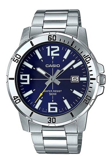 Relógio Casio Masculino Mtp-vd01d-2bv Original C/ Nota