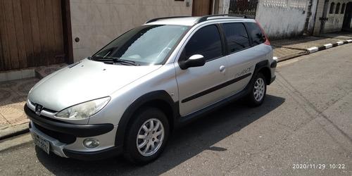Peugeot 206 Sw 2007 1.6 16v Escapade Flex 5p Completão + Abs