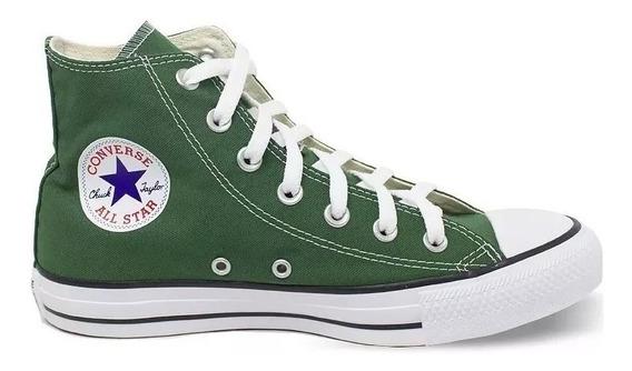 Tênis Converse All Star Cano Alto Verde Bandeira