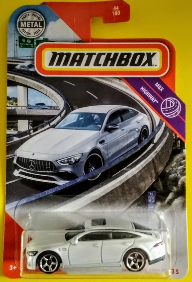 Mercedes-amg Gt 63 S Matchbox Highway 2020 *7* Leer
