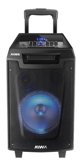 Equipo De Audio Aiwa Tower Speak Aw-t800 8 8000w Bt C/micr