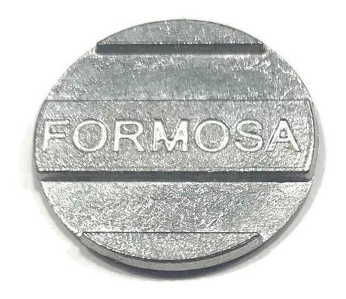 Imagem 1 de 2 de 100 Fichas  Para Mesa De Sinuca Bilhar Formosa Pebolim Totó