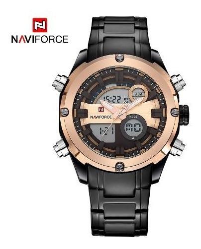 Relógio Masculino Naviforce Original Prova Dágua Luxo Nf9088
