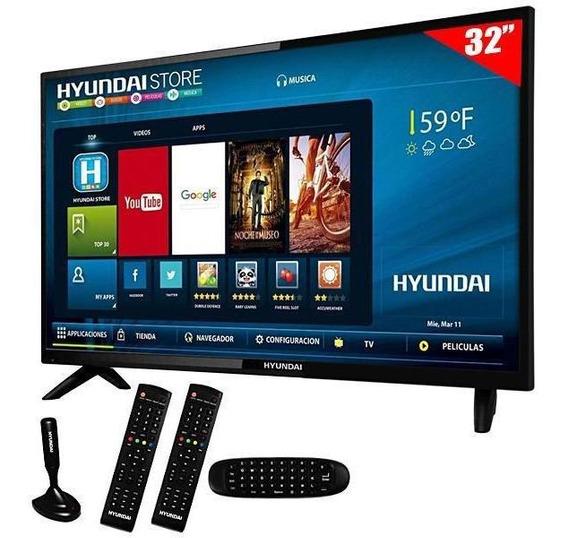 Televisão Smart Led Hyundai Hy32atha 32 Hd