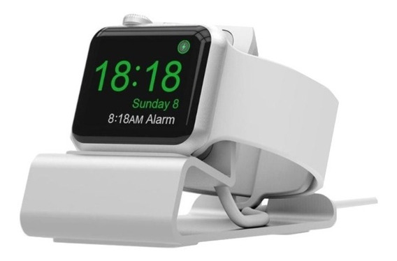 Suporte Base Dock P/ Carregamento Apple Watch Sr 1,2,3,4,5