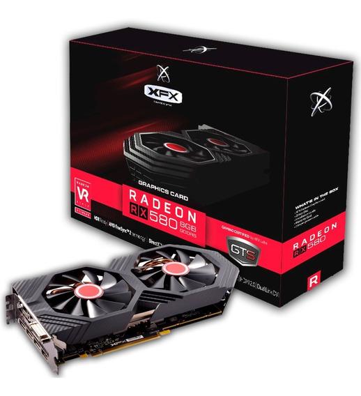 Radeon Rx 580 8gb Gddr5 Placa De Vídeo Lacrada Nfe