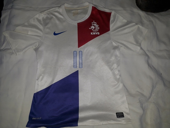 Camiseta Altern.selecc.holanda 2013 N°11 Robben Nike Orig. S