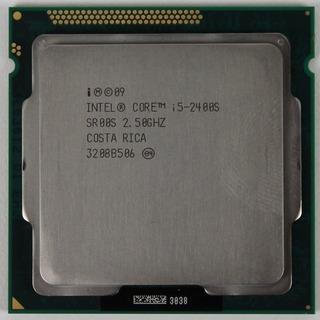 Procesador Intel Core I5 2400s 65watts Socket 1155 Gtía.