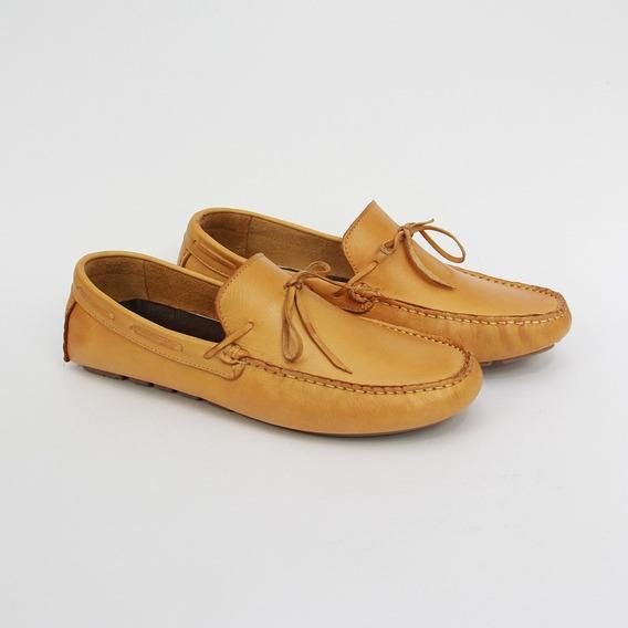 Sapato Masculino Mocassim Em Couro Legítimo Ref 102
