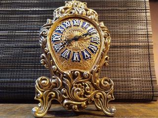 Reloj Estilo Victoriano Alemán De Chimenea