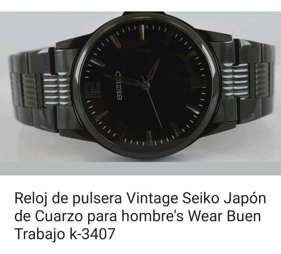 Reloj Cuarzo Tipo Seiko Negro Minyota Mov, Estetica 10
