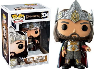 Funko Pop The Lord Of The Rings King Aragorn 534 Original