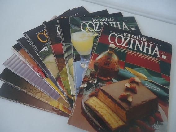 Lote De 11 Revistas Jornal De Cozinha Suplemento De Claudia