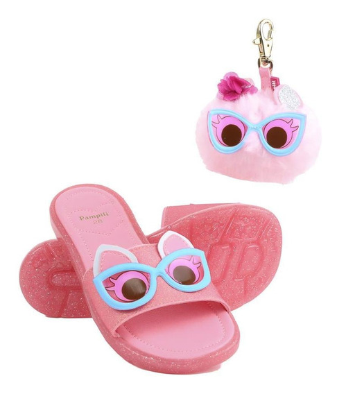 Chinelo Slide Infantil Pampili Dot