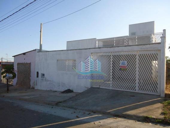 Casa Com 3 Dormitórios À Venda, 150 M² Por R$ 302.500,00 - Parque São Clemente Ii - Monte Mor/sp - Ca0451