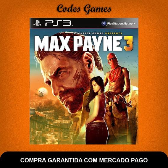 Max Payne 3 - Ps3 - Pronta Entrega