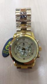 Relógio Atlantis M K Dour Feminino Luxo Original Fret Gratis