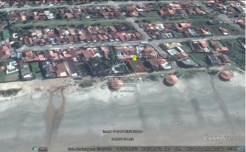 Terreno Pe Na Areia Itanhaem - V-1048