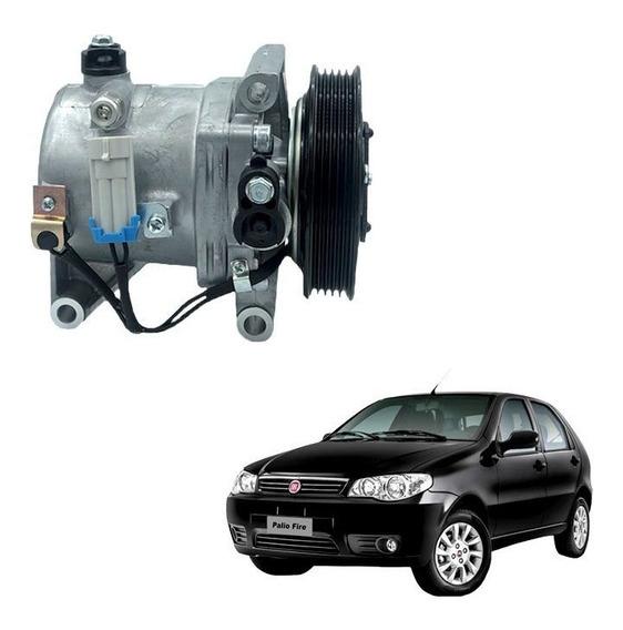 Compressor De Ar Calsonic Fiat Palio Uno Fire Novo Uno