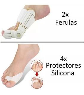 Tratamiento Juanetes 2 Ferulas + 4 Protectores