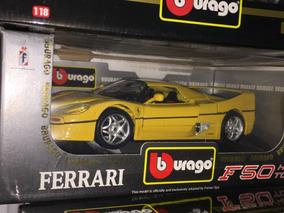 Ferrari F50 Hard Top 1:18 Bburago Burago Ñ F1 Senna Le Mans