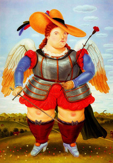 Lienzo Tela Canvas San Miguel Arcángel Fernando Botero 86x60