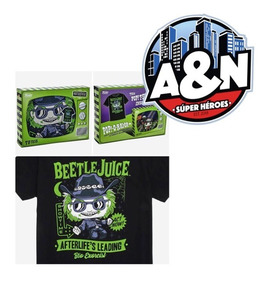 Camiseta Funko Pop Tees Beetlejuice