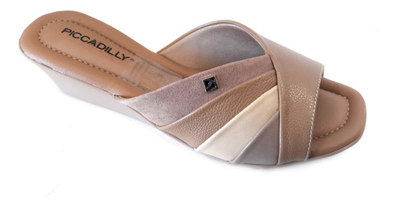 Zapato Mujer Piccadilly Zueco Taco Chino 4cm Cod 153038