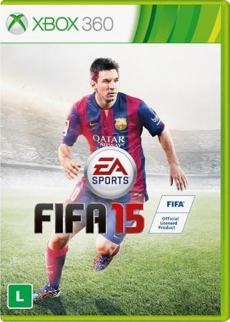 Jogo Fifa 15 2015 Xbox 360 Original Mídia Física Frete Grats