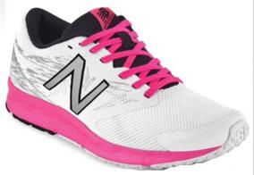 Tenis New Balance Dama Rosa/blanco 628-03