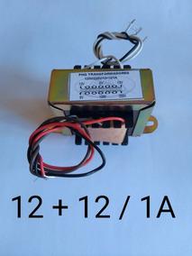 Transformador 12+12/1 Ampere
