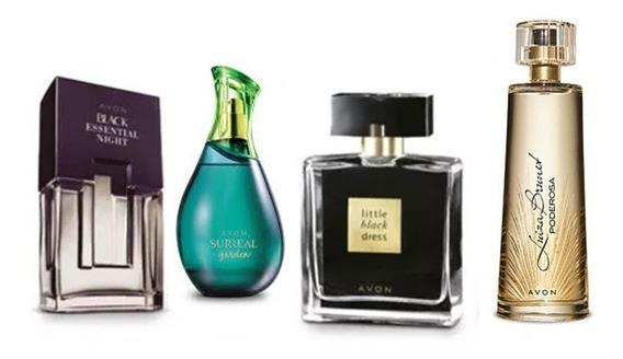 Kit Com 4 Perfumes Avon -masculino E Feminino