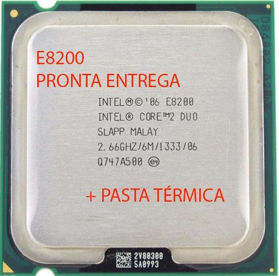 Processador Core 2 Duo E8200 2,66 Ghz 6m 1333mhz Lga 775