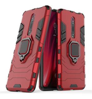 Forro Xiaomi Mi 9t Case Robot Armor Con Anillo