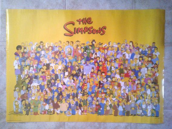 Poster Los The Simpsons - Serie Tv Dibujos Animados