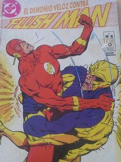 Flush Man N° 5 Editorial Perfil Argentina 1992