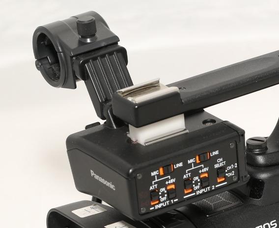 Panasonic Ag-myag30g Xlr Adapter & Microfone
