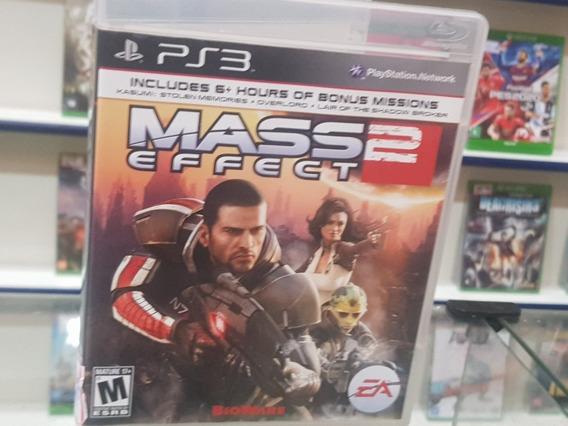 Mass Effect 2 Usado Original Manual Ps3 Mídia Física