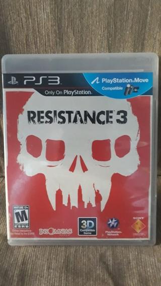 Game Ps3 Resistance 3 - Mídia Física Original