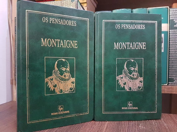 Ensaios - Montaigne - 2 Volumes Os Pensadores