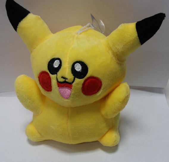 5 Pikachu Pelúcia Com Musica De Abertura Pokemon Go 20 Cm