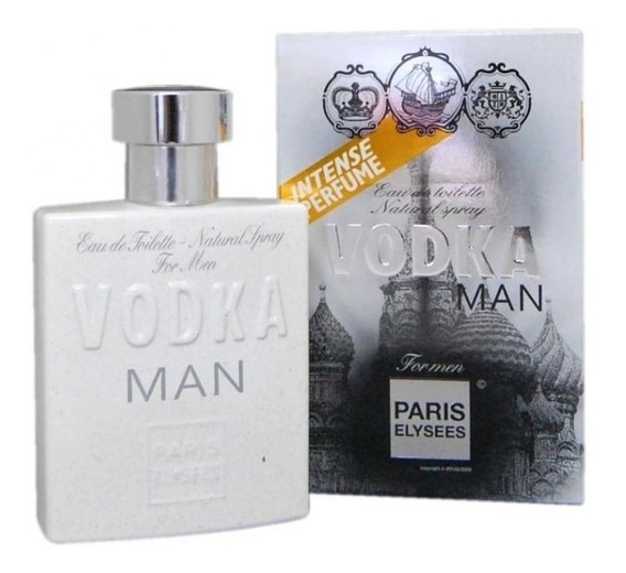 Perfume Vodka Man Paris Elysees 100 Ml - Original E Lacrado