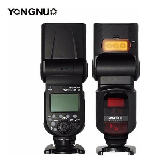 Flash Yongnuo Yn 968ex Rt Led Para Nikon Yn968 Receptor