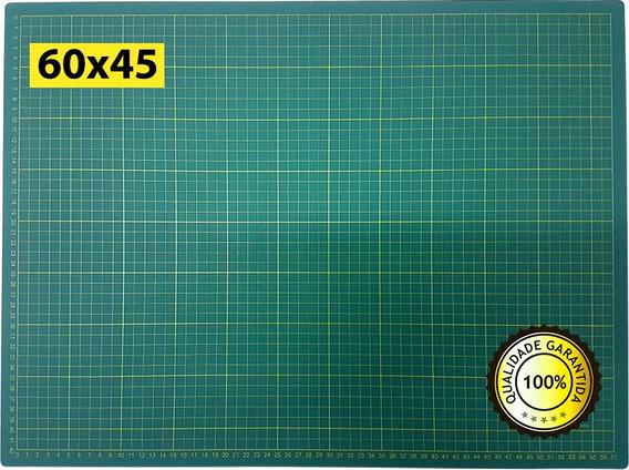 Base Corte A2 60x45cm Dupla Face Centímetro Patchwork Arte.