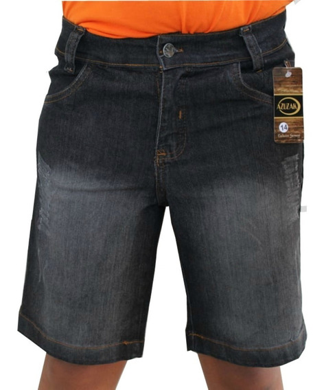 Bermudas Jeans Infantil Masculina Short Criança Menino