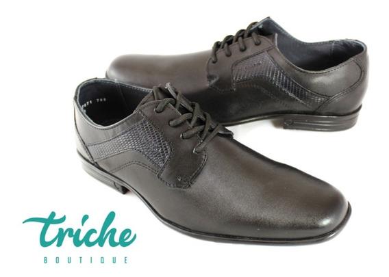 Calzado Zapato Caballero Negro Merano 47071 Vestir Agujeta