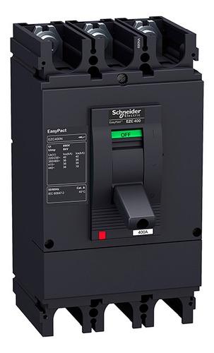 Interruptor Easypact Ezc400n Fijo 350 A 3 P 36 Ka Unidad Tmd