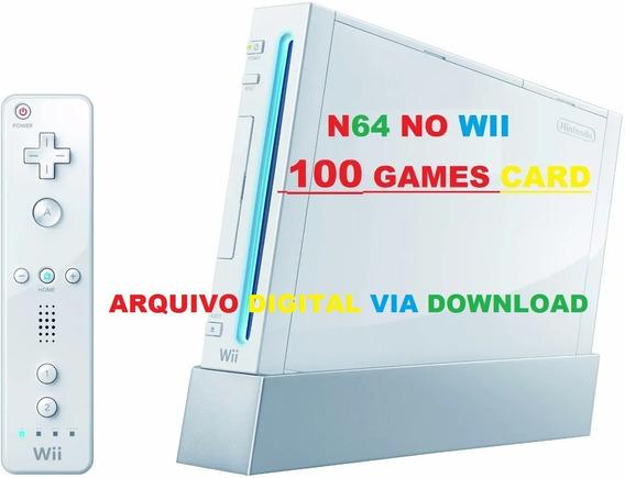 Cartão Sd P/ Nintendo Wii Emulador N64 Wii - Arquivo Digital