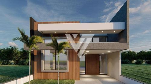 Casa Com 3 Dormitórios À Venda, 115 M² Por R$ 510.000,00 - Condomínio Terras De São Francisco - Sorocaba/sp - Ca1597